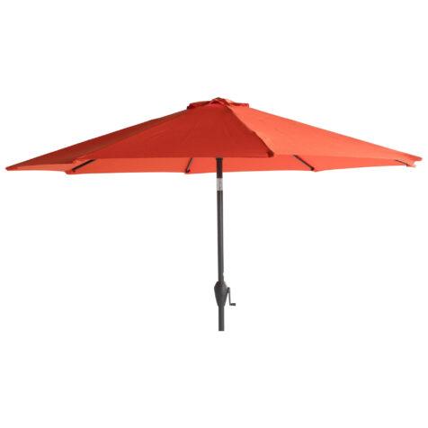Sun line parasoll i färgen orange.