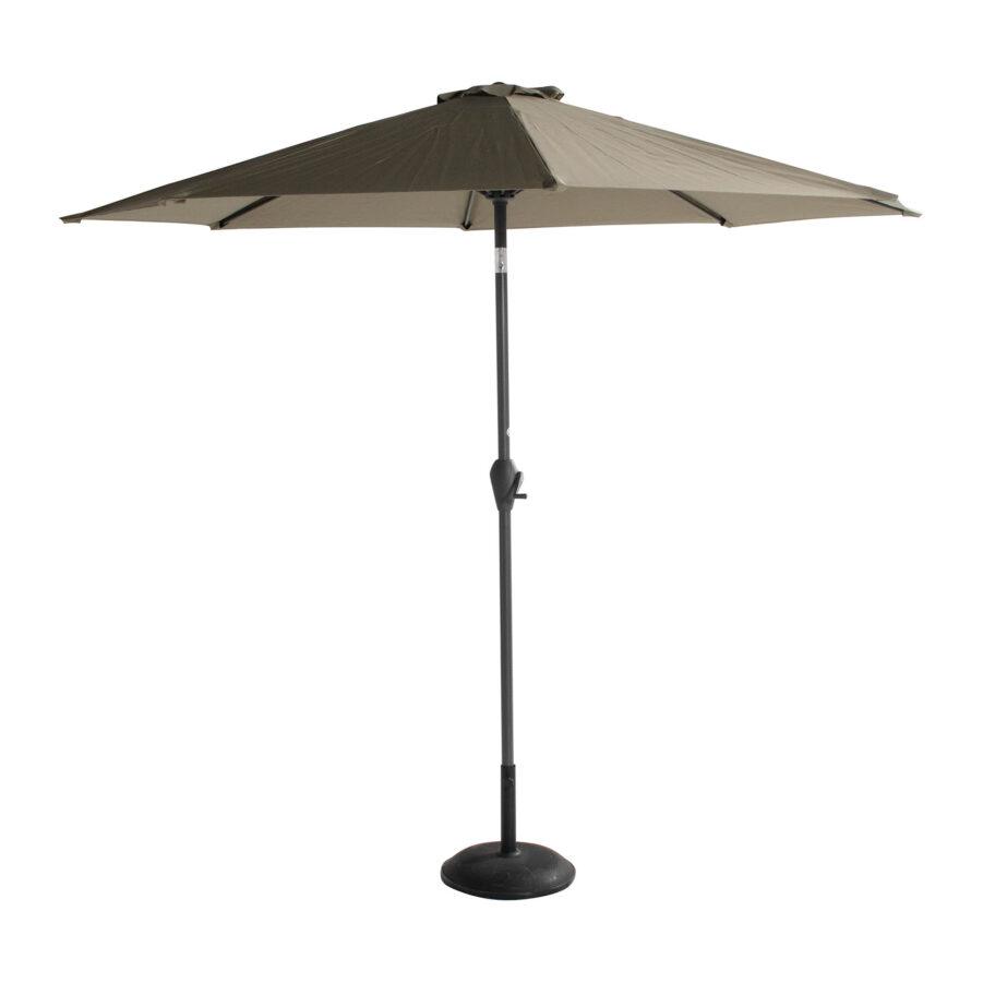 Sun-Line parasoll i färgen oliv.