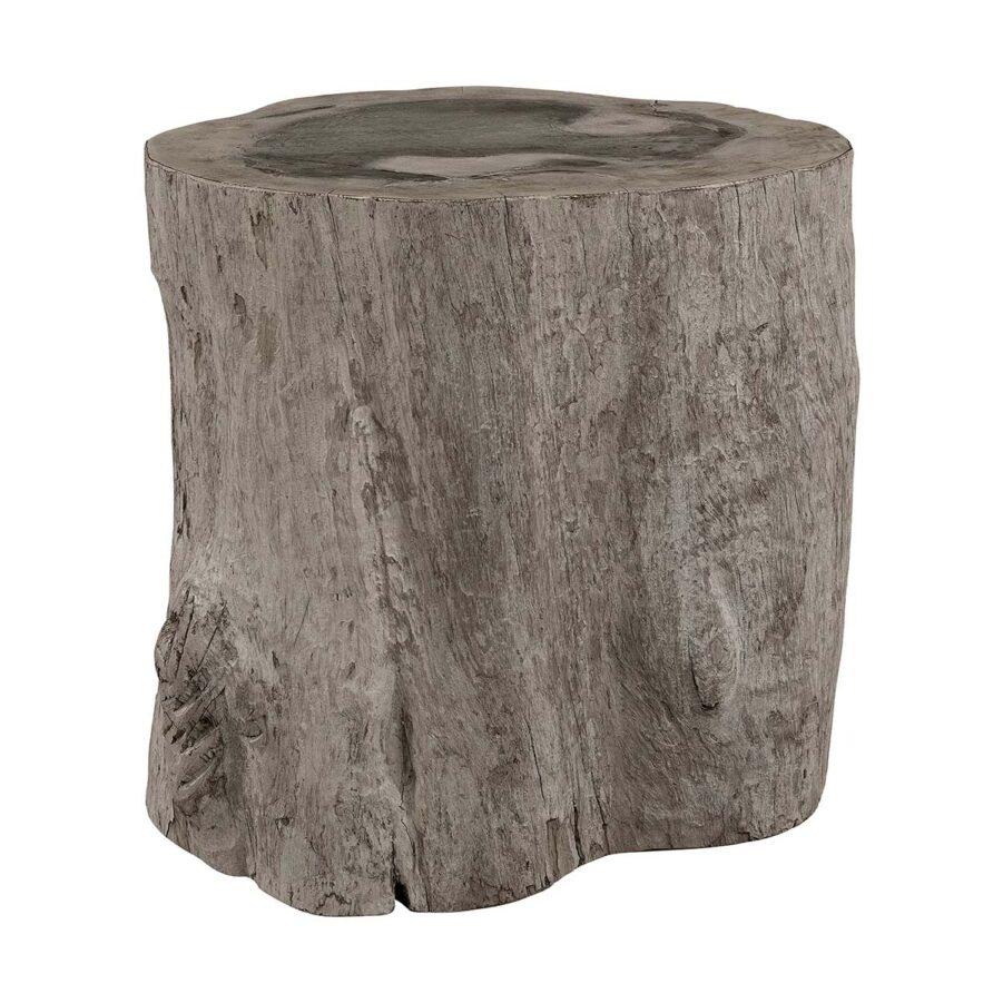 Colorado log pall i charcoal teak.