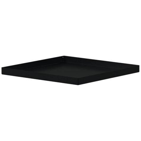 Design of krukfat square i svart.