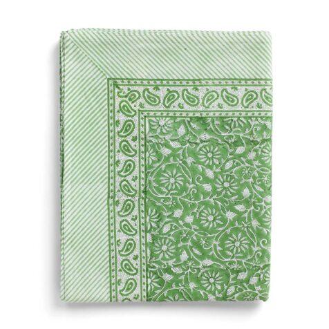 Margerita bordsduk i grönt.