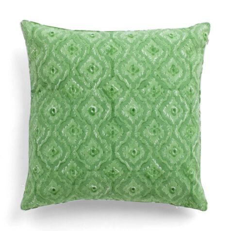 Produktbild på Diamond kudde i grönt.