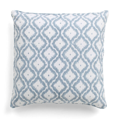 Diamond plain kuddfodral i färgen cashmere blue.