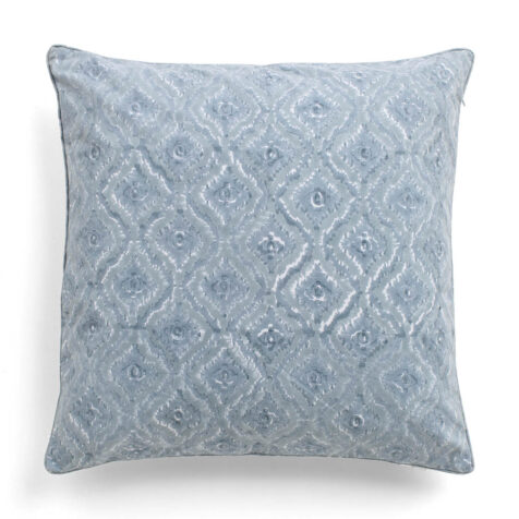 Diamond kuddfodral ljusblå.