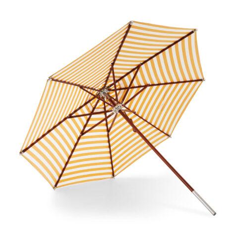 Atlantis gulrandigt parasoll i 330 cm