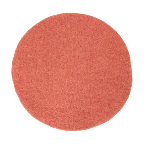 Felt sittdyna rosa från AfroArt.