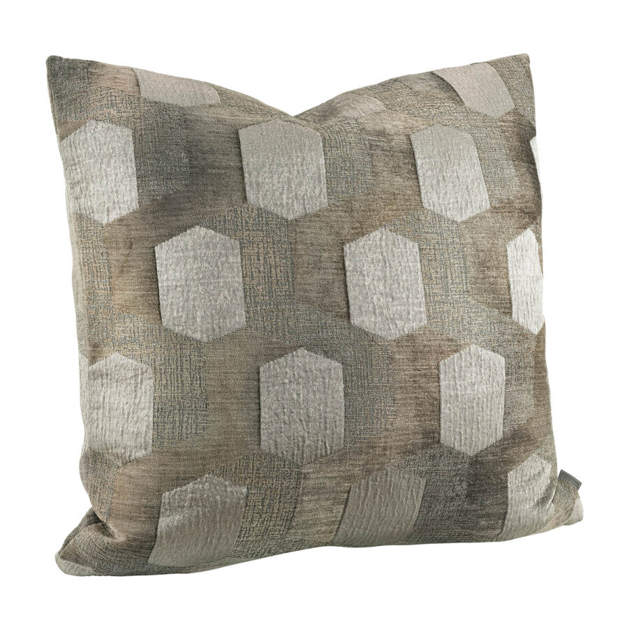 Artwood Isola Patch kuddfodral taupe