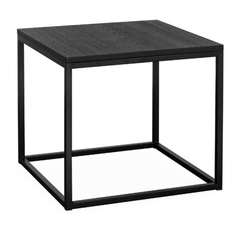 Artwood Mason sidobord svart 55x55 cm