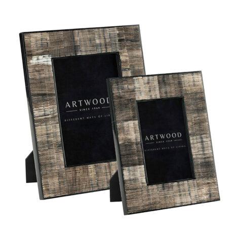 Artwood Avorio fotoram 2-set