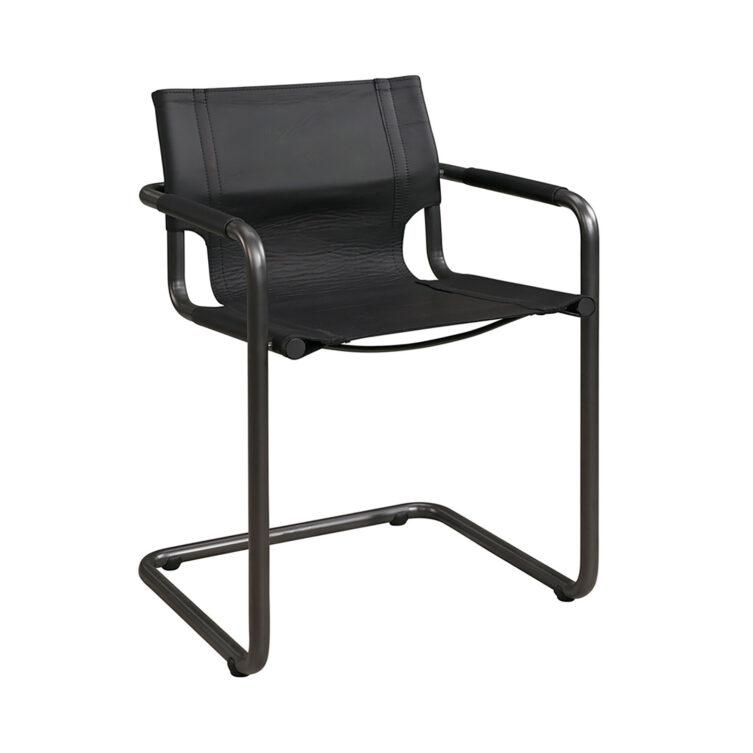 Artwood Gianni karmstol svart/svart