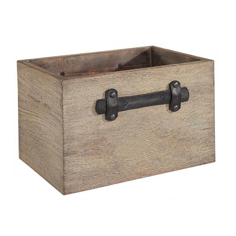 Artwood Smith & CO box vintage java oak